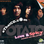 Karaoke VCD : Potato - Love & Spicy