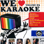 Karaoke VCD : Universal Music - We Love Karaoke Vol.3