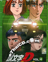 Initial D Stage 2 : Vol.4 [ DVD ]