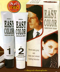 Mistine : Easy Color HairColor Cream [Natural Brown]