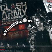 Concert VCDs : Clash Army - Chewit Mittraparb Kwarm Ruk
