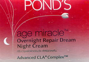 Pond's : Age Miracle Overnight Repair Dream Night Cream