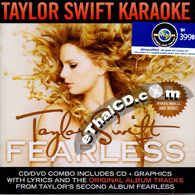 CD+Karaoke DVD : Taylor Swift - Fearless