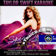 CD+Karaoke DVD : Taylor Swift - Speak Now
