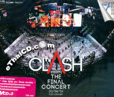 Concert VCDs : Clash Rebirth The Final Concert