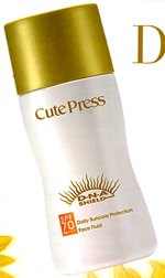 Cute Press : DNA Shield Daily Suncare Protection Face Fluid SPF70PA+++