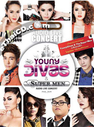 CD : Audio Live - Young Divas And The Super Man (3 CDs)