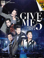 Concert DVDs : Give Me 5 Concert Rate A