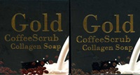 Madam Path Pink : Gold Coffee Scrub Collagen Soap [Set of 2]
