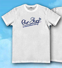 Our Skyy The Series : White T-Shirt - Size XL
