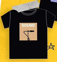 Theory Of Love : Sound T-Shirt - Size M