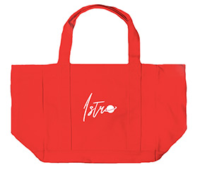 Astro : Canvas Bag - Coral Red