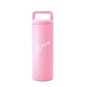 Astro : Cartoon Logo Tumbler - Pink