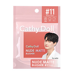 Cathy Doll : Nude Matte Blusher - No.11 Bright Punch