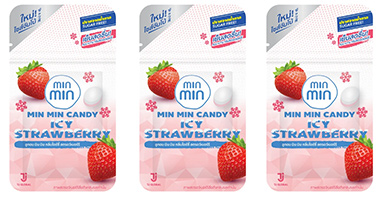MinMin : Candy - Icy Strawberry (Set of 3)