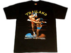 Muay Thai T-Shirt : Black