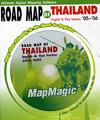 MapMagic : Road Map of Thailand [ Bilingual Version ]