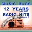Karaoke VCD : Music Bugs : 12 Years 1996-2008 - Radio Hits vol.1