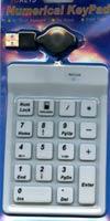 Numerical Flexible Mini Keypad