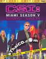 CSI : Miami - Season V [ DVD ]