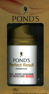 Pond's : Perfect  Result Multi-Benefit Moisturizer  Uv Protection  SPF18