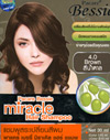 Pacare Bessie : Miracle Hair Coloring Shampoo [Brown]