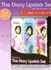 Mistine : The Diary Lipstick Set