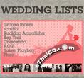 Sony Music : Wedding List