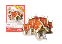 Amazing Thailand 3D Puzzle : Wat Benjama Bophit (Marble Temple)