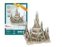 Amazing Thailand 3D Puzzle : Wat Arun Temple