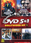 Bollywood Hit : 5 in 1 [ DVD ] - Vol.1