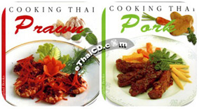 Cook Book : Cooking Thai Set Pork + Prawn [English Edition]
