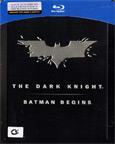 Batman - The Dark Knight/Batman Begins [ Blu-ray ] (3 Discs - Steelbook)