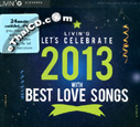 Grammy : Let's Celebrate 2013 with Best Love Songs (2 CDs)
