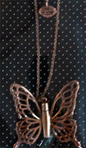 Gold Butterfly Necklace : Yes Or No 2