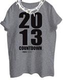 GTH : Countdown T-Shirt (Grey) - Size M