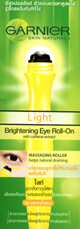 Garnier : Brightening Eye Roll-On