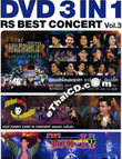 Concert DVD : 3 In 1 : RS Best Concert - Vol.3