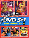 Bollywood Hit : 5 in 1 [ DVD ] - Vol.20