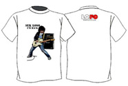 Sek Loso I'm Back (White) : T-Shirt - Size XL