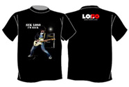 Sek Loso I'm Back (Black) : T-Shirt - Size L