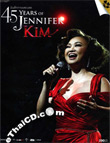 Concert DVDs : Jennifer Kim - 45 Years of Jennifer Kim