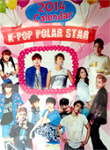 Desktop Calendar 2014 : K-Pop Polar Star