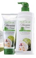Mistine : Natural Hawaiian young coconut Shampoo + Mistine Natural Hawaiian young coconut Conditioner