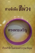 Wristband [Violet Color]