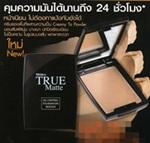 Mistine : True Matte Oil Control Foundation Mousse [2Tone Skin] #F3
