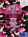 Concert DVD : Girls Generation : The Best Live at Tokyo Dome