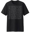 Bodyslam : T-shirt Bodyslam Crossword - Size XL