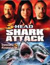 3 Headed Shark Attack [ DVD ]