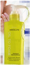 Mistine : Absolute Oil to Foam Cleansing and Make Up Remover